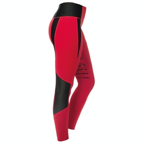 Horseware Tech Damen Riding Tights - Red
