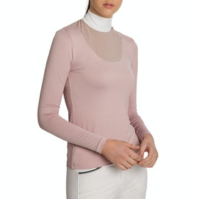 Horseware Lisa Technical Damen Turnier-Shirt - Blush