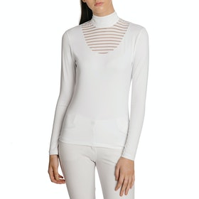 Horseware Lisa Technical Damen Turnier-Shirt - White