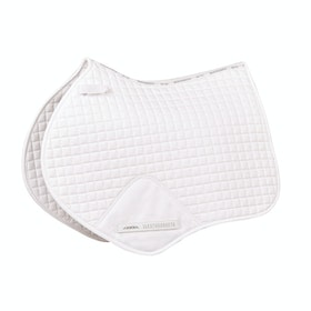 Weatherbeeta Prime Jump Shaped Sattelpad - White