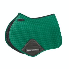 Weatherbeeta Prime Jump Shaped Saddle Pad - Emerald