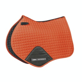 Weatherbeeta Prime Jump Shaped Saddle Pad - Flame