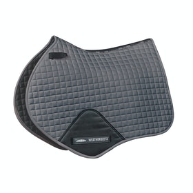 Weatherbeeta Prime Jump Shaped Saddle Pad - Grey