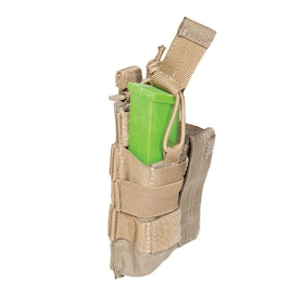 5.11 Tactical Double Pistol Bungee-Cover Pouch - Sandstone