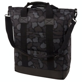 Hex Tote Handbag - Supply Charcoal