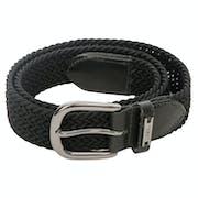 AA Platinum Woven Web Belt