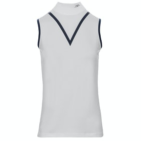 AA Platinum Mina Technical Sleeveless Ladies Top - White