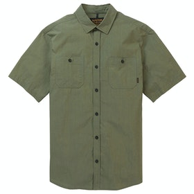 Burton Ridge Short Sleeve Shirt - Weeds