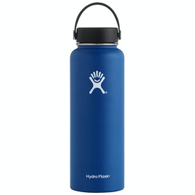 Hydro Flask 40 oz Wide Mouth Water Bottle - Cobalt