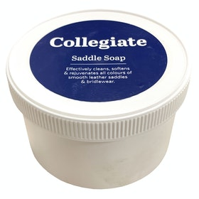 Collegiate Saddle Soap 350gm Leathercare - Clear