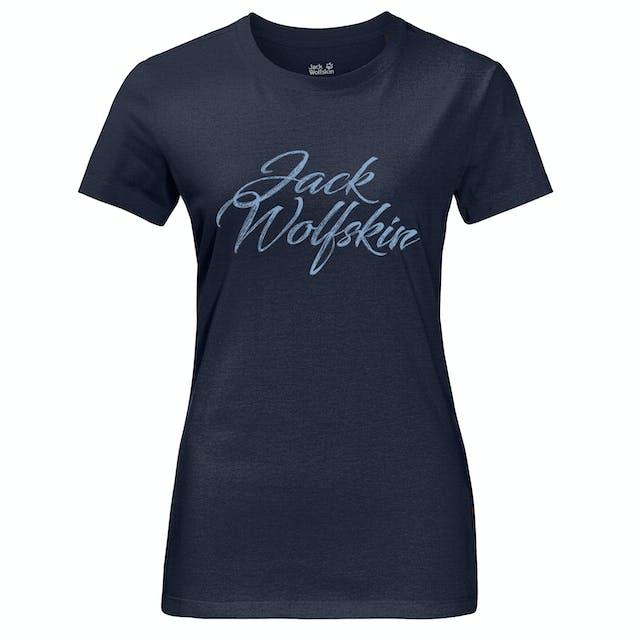 Jack Wolfskin Brand Womens T Shirt