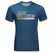 Jack Wolfskin Ocean Short Sleeve T-Shirt