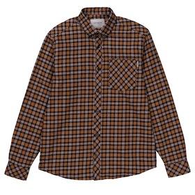 Carhartt Lanark Shirt - Lanark Check Hamilton Brown