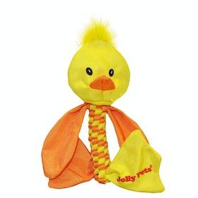 Jouet pour chiens Horsemans Pride Jolly Pets Animal Flathead Duck - Yellow