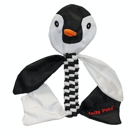 Horsemans Pride Jolly Pets Animal Flathead Penguin Dog Toy - Black