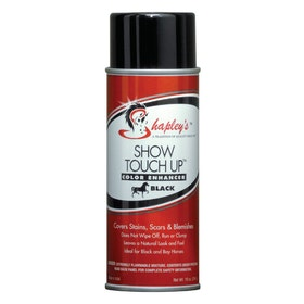 Shapleys Touch Up Colour Enhancer Show Preparation - Black