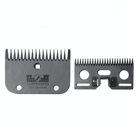 Clipperman CLA6 German Steel Blade Set 3mm Clipper Blade - Silver