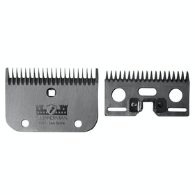 Clipperman CLA7 German Steel Blade Set 3mm Clipper Blade - Silver