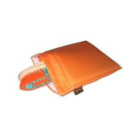 Moorland Rider Brush Wash Bag - Orange