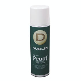 Dublin Fast Dry Proof Spray 300ml Boot Polish - Clear