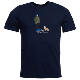 Barbour Josh Parkin Burst T Shirt - Navy
