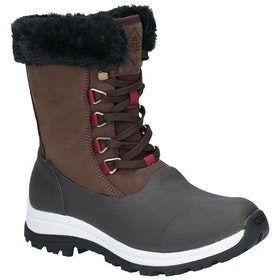 Muck Boots Apres Lace Ag Ladies Boots - Brown