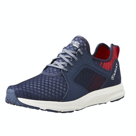 Ariat Fuse Team Mens Trainers - Navy