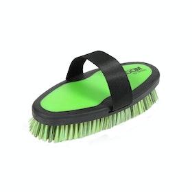 Shires Ezi-Groom Wash Brush Shampoo Brush - Lime Green