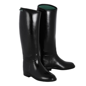 Dublin Universal Childrens Long Riding Boots - Black