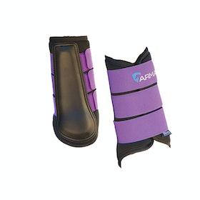 Shires ARMA Neoprene Brushing Boot - Plum