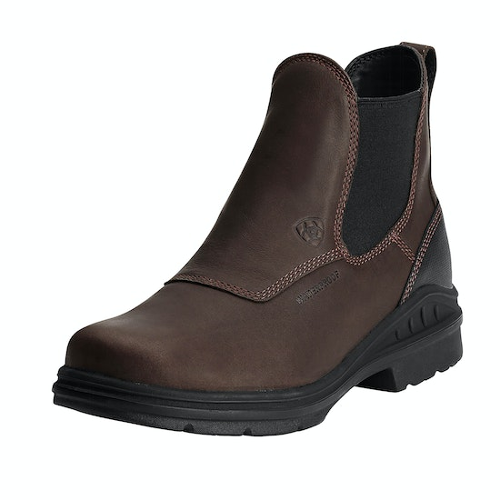 Ariat Barnyard Twin Gore H20 Mens Short Riding Boots