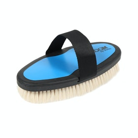 Shires Ezi-Groom Goat Hair Body Brush - Blue