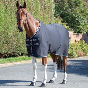 Shires Tempest Original Jersey Cooler Rug - Black