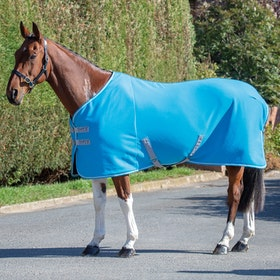 Shires Tempest Original Jersey Cooler Rug - Blue
