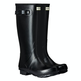 Hunter Norris Field Wellies - Black
