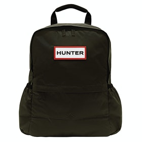 Hunter Original Nylon Rucksack - Dark Olive