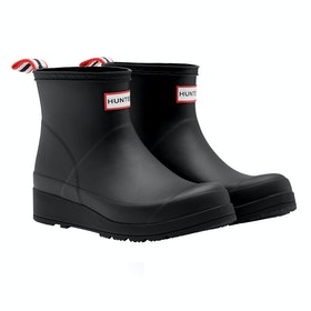 Hunter Original Play Boot Short Ladies Wellingtons - Black