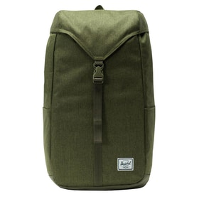 Herschel Thompson Backpack - Olive Night Crosshatch