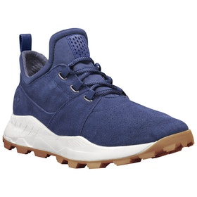Timberland Brooklyn Lace Oxford Trainers - Navy Suede