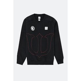 Adidas Evicrewn Sweatshirt - Black Scarlet