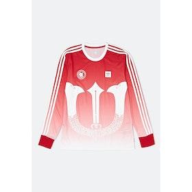 Adidas Evijersey Sweatshirt - Scarlet White