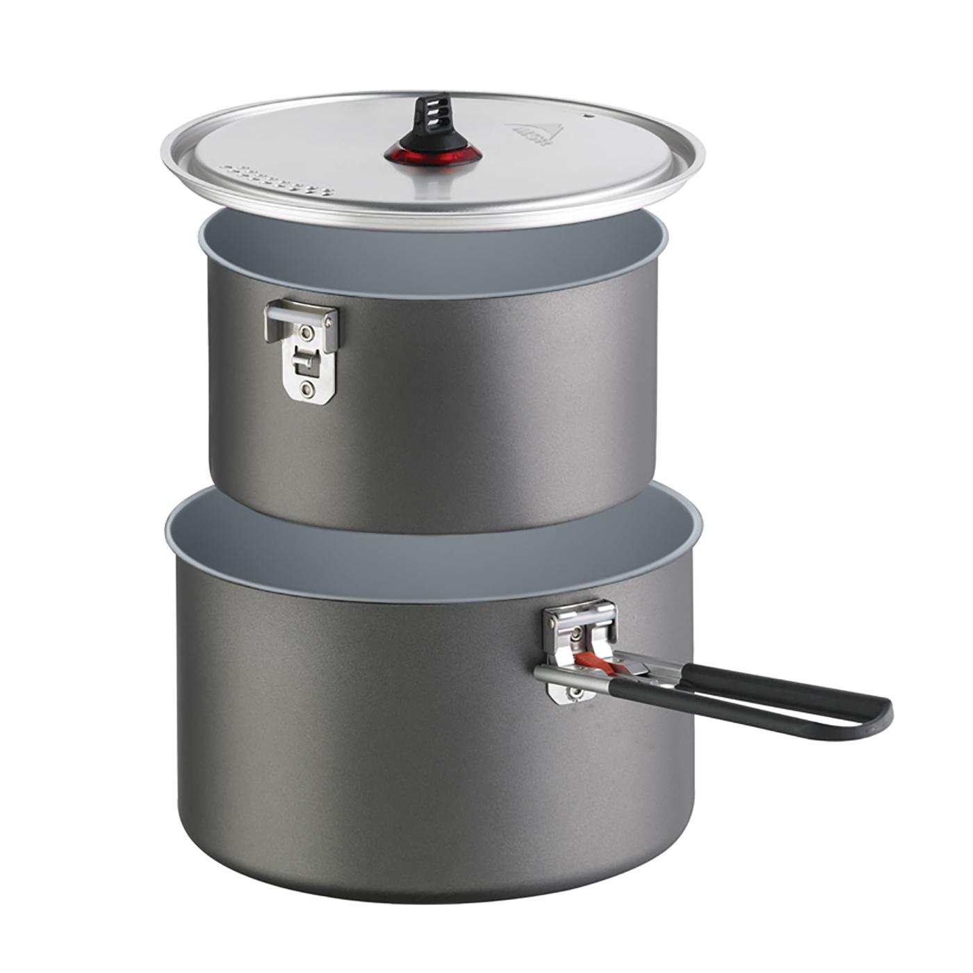 f/ür Reactor 1.0 noir Accessoires cuisine MSR Coffee Press Kit