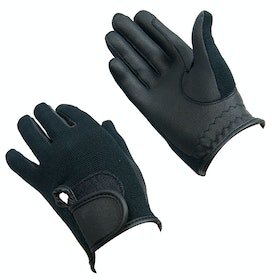 Bitz Synthetic Riding Gloves - Black