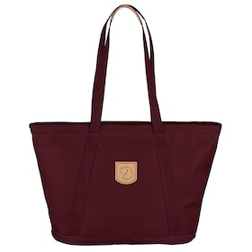 Fjallraven Totepack No.4 Wide Ladies Shopper Bag - Dark Garnet