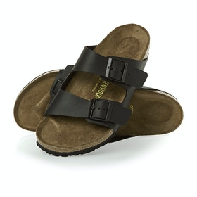 Birkenstock Arizona Birko Flor Sandals - Black
