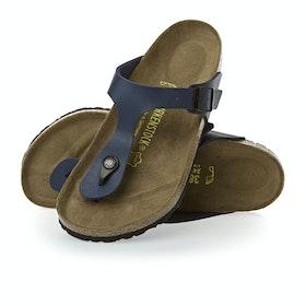 Birkenstock Gizeh Birko Flor Sandals - Blue