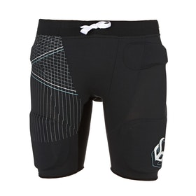 Demon FlexForce Pro Womens Impact Shorts - Black
