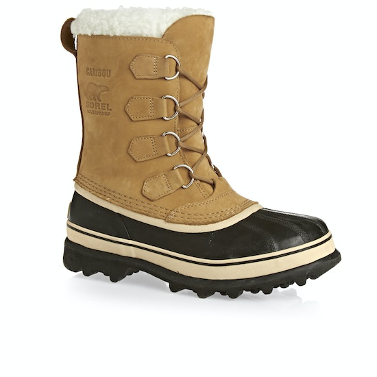 Sorel Caribou Faux Fur Womens Boots