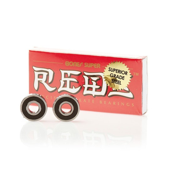 Bones Swiss Super Reds Skateboard Bearings