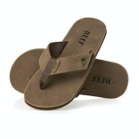 Sandales Reef Leather Smoothy - Bronze Brown